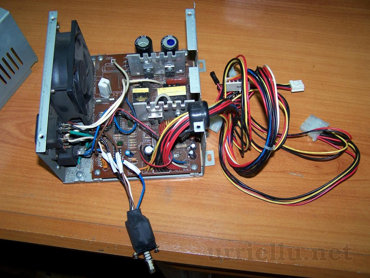 Simple Power Supply Unit For Electronics Lab Electrical Wiring Opened Case