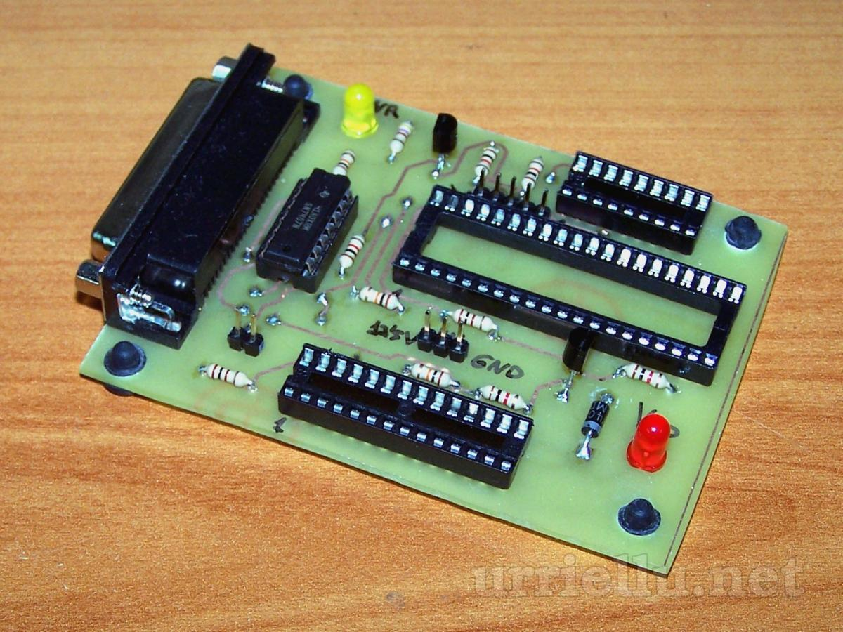 pic³prog pic programmer by parallel port