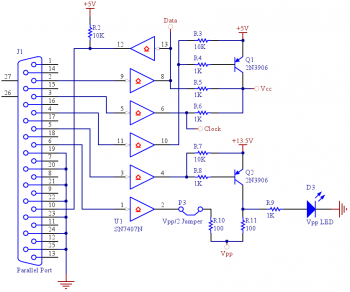 pic programmer electronic schematic