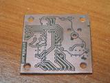 pcb etched and drilled